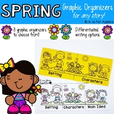 Spring-Themed Graphic Organizers {For Any Story!}
