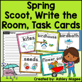 Spring Themed Handwriting Scoot and/or Write the Room