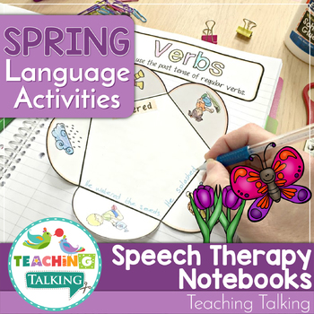 Spring Language Activities for Notebooks