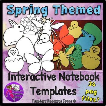 Spring Interactive Notebook Templates