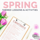 Spring Themed Lessons & Activities for Older Students