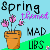 Spring Themed Mad Libs - Nouns, Verbs, and Adjectives
