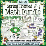 Spring Themed Math Activities for K-1
