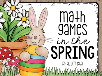 Spring-Themed Math Centers
