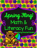 Spring Themed Math and Literacy Learning!