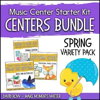 Spring Themed Music Center Starter Kit - Variety Pack Bundle
