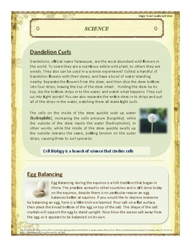 Spring Themed Nature Education Unit-Stage 2 (Magic Forest Academy)