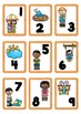 Spring Themed Number Cards 1-100
