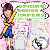 Spring Themed Papers