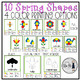 Spring Themed Pattern Block Cards