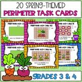 Spring Themed Perimeter Task Cards