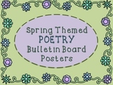 Spring Themed Poetry Posters