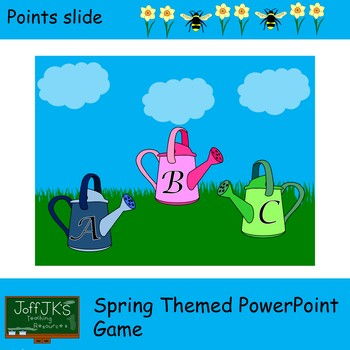 Spring Themed PowerPoint Review Game