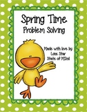 Spring Themed Problem Solving