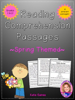 Spring Themed Reading Passages *JUST PRINT & TEACH!*