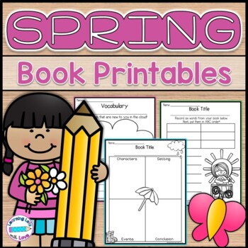 Spring Themed Reading Response Activities