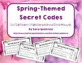 Reading and Spelling Practice with Spring Themed Secret Codes