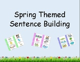 Spring Themed Sentence Building