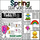 Spring Themed Sight Word Game