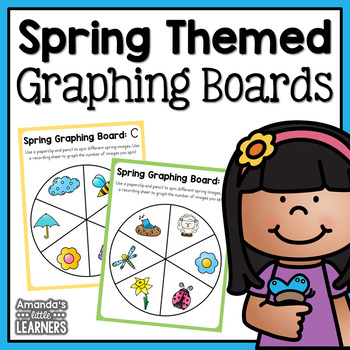 Spring Themed Simple Graphing Boards