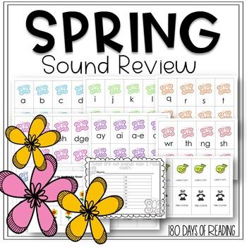 Spring Themed Sound Fluency Game!