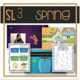 Spring-Themed Speech, Language, Literacy, and Listening Therapy