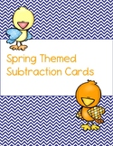Spring Themed Subtraction Cards