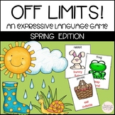 Spring Themed Taboo Game