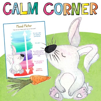 Spring Theme Calm Down Corner