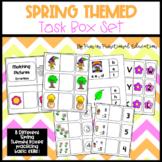 Spring Themed Task Box Set- 8 Unique Task Boxes for Practi