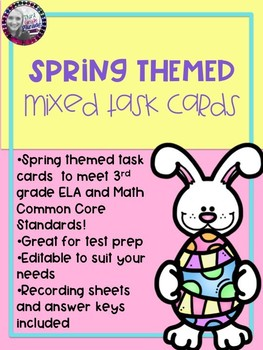 Spring Themed Task Cards