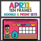 Spring Themed Ten Frames