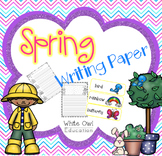 Spring Themed Writing Paper