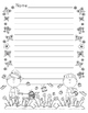 Spring Themed Writing Paper/Stationary