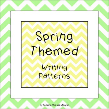Spring Themed Writing Patterns