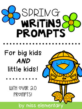 Spring Themed Writing Prompts