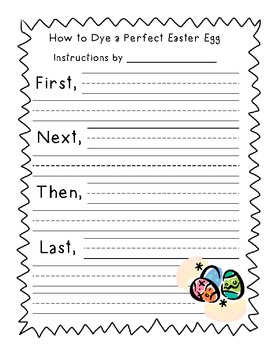 Spring Themed Writing Sheets