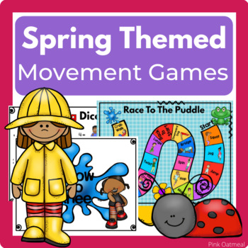 Spring Themed Brain Breaks, Yoga, and Games
