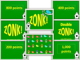 Spring Themed ZONK! powerpoint game template