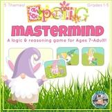 Easter Math Game! Spring Themes MASTERMIND Logic & Reasoning FUN! Memory & more