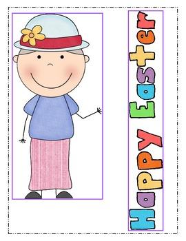 Spring-There Was an Old Lady Who Swallowed a Chick! Book Activities