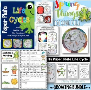 Spring Things BUNDLE - All our Spring Things in One File