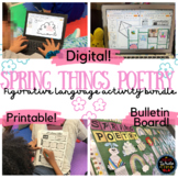 Spring Things BUNDLE: Digital OR Printable Figurative Lang