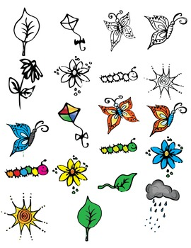 Spring Things Clip Art!