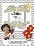 Spring Things Literacy Skills