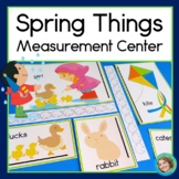 Spring Things Measurement with nonstandard units