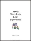 Spring Third Grade Dolch Sight Words eBook