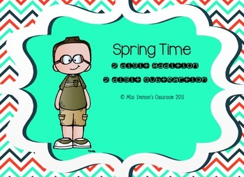 Spring Time 2 Digit Addition & Subtraction