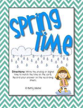 Spring Time ~ 2.MD.7 Math Station