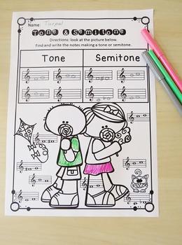 Spring Time 30 Fun Music Worksheets